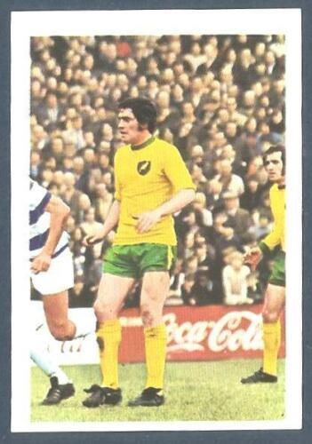 FKS 1972//73 WONDERFUL WORLD OF SOCCER STARS #212-NORWICH CITY V QPR-ALAN BLACK