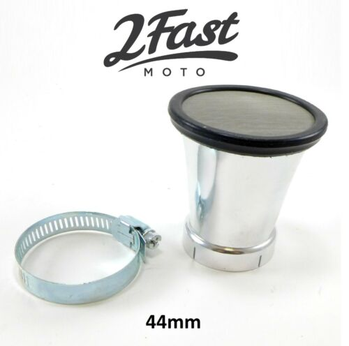 2FastMoto Velocity Stack Motorcycle Air Intake Filter Suzuki GS GSX Cafe Racer