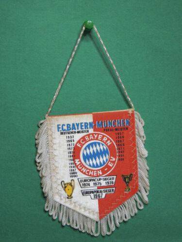 Fanion Foot FC Bayern Munchen Munich Germany team club football wimpel Pennant