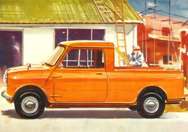 Austin Mini Pickup 1961 Car Jumbo Fridge Magnet For Sale Online Ebay