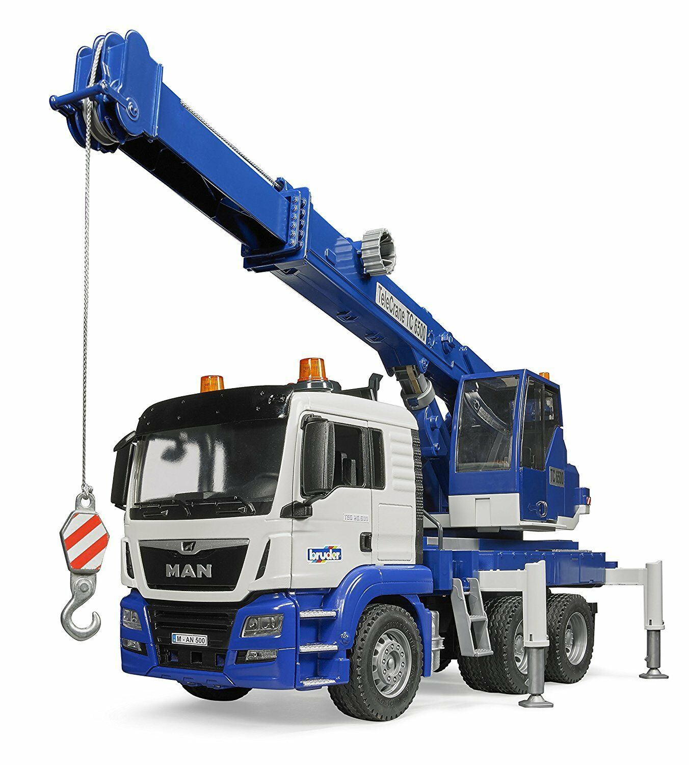 Frère on tgs tgs tgs grue camion avec Light & sound 03770 camions kranlaster NEUF 917355