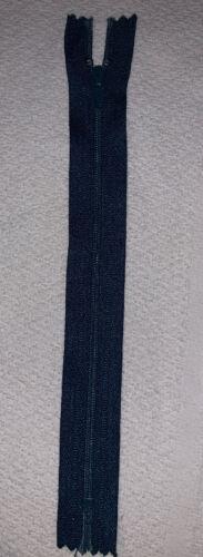 20 cm tono azul 50 Cremallera no divisible largo aprox