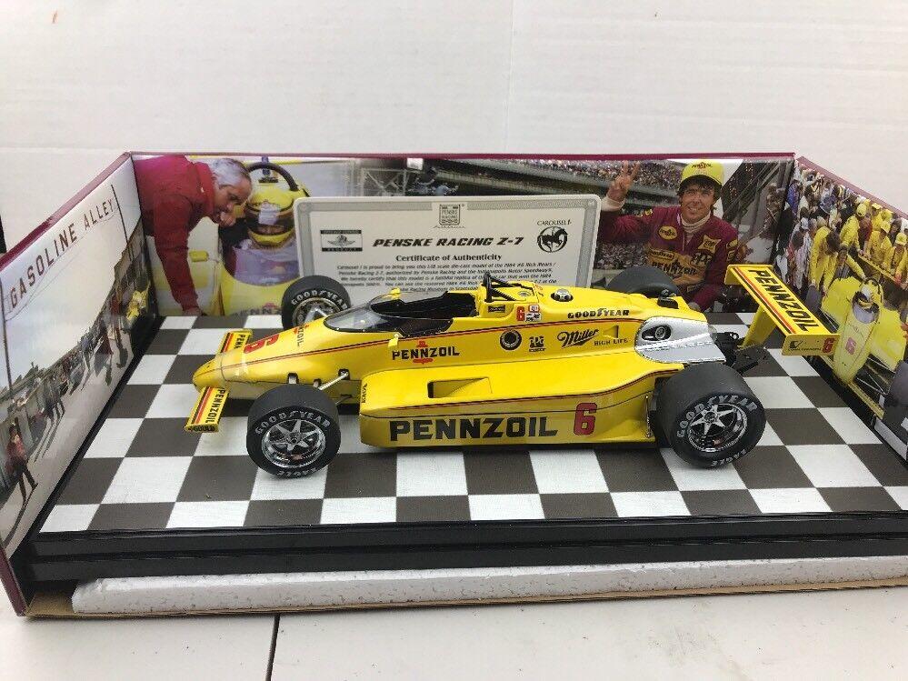 Carousel 1 Penske Pennzoil 2018 de marzo de 500 ganador Rick Mears Indy 5301