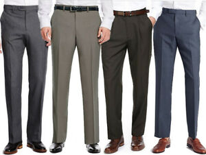 Marks-amp-Spencer-Mens-Active-Waist-Trousers-New-M-amp-S-Smart-Formal-Work-Long-Pants