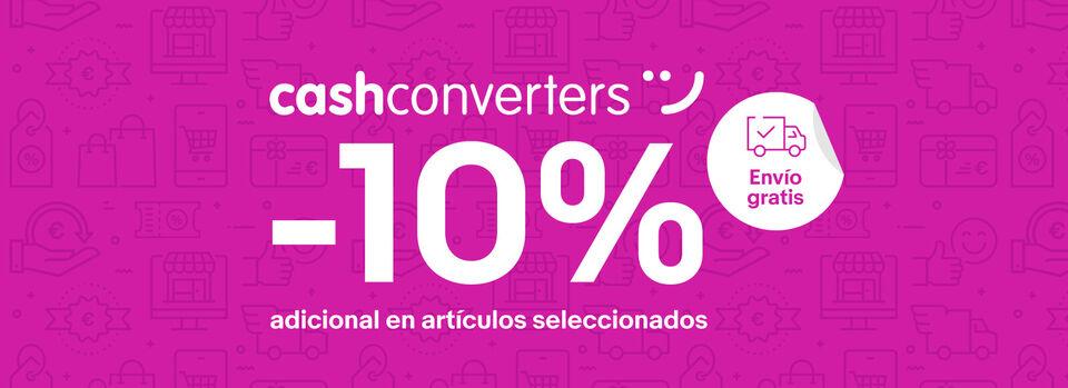 Ver selección - -10% adicional en Cash Converters