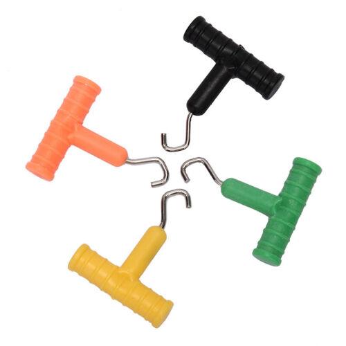 T-Stype Carp Fishing Knot Pull Tool Knot Hook Puller for Carp Fishing Rig*GK