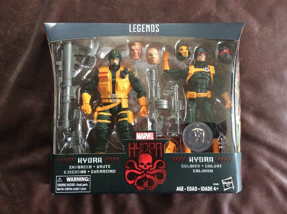 Marvel Legends Series HYDRA ENFORCER & SOLDIER  TOYS R US Exclusive 6