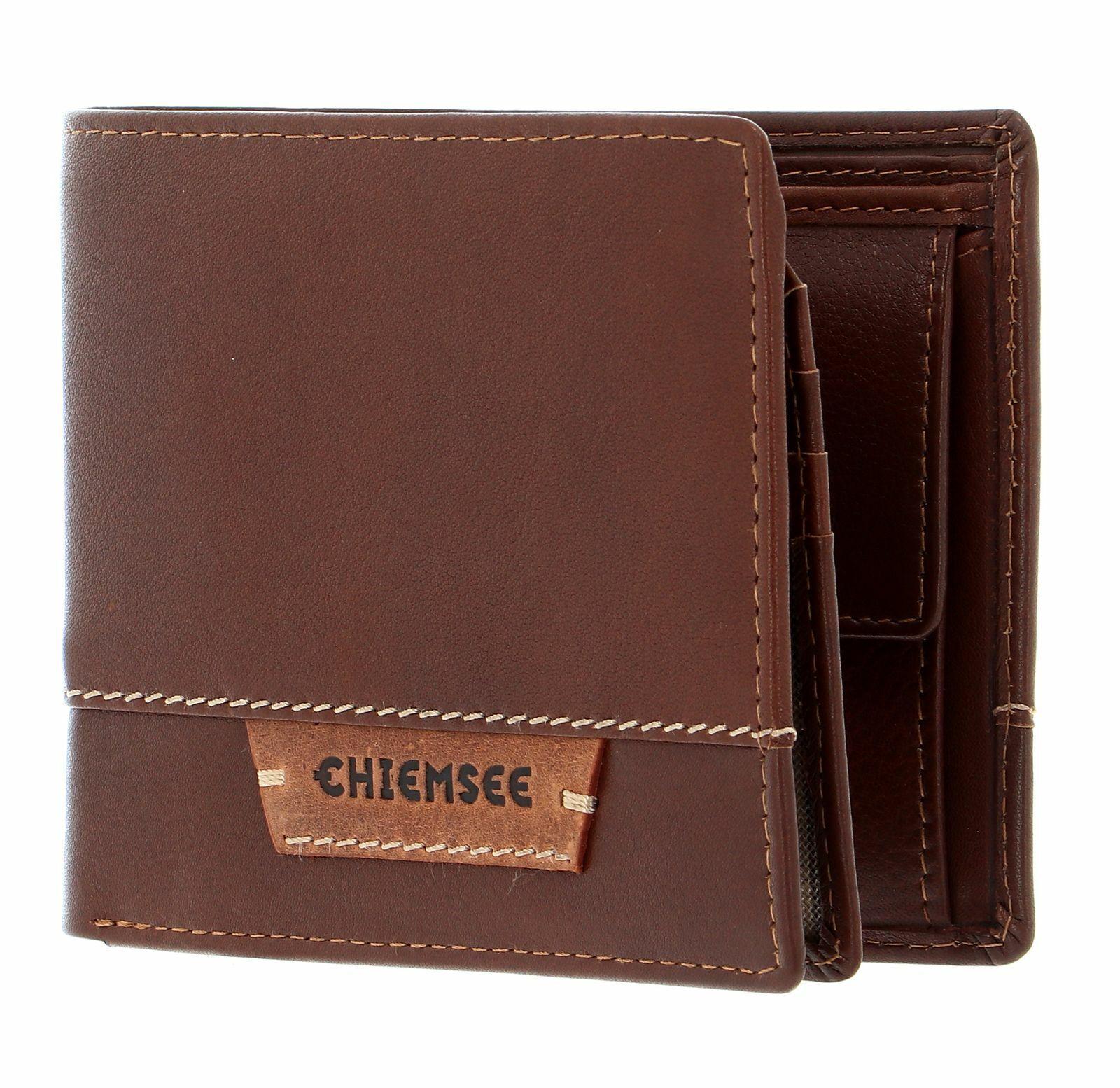 CHIEMSEE Paraguay Wallet With Flap Geldbörse Cognac Braun Neu