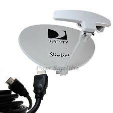 DIRECTV SWM5 SATELLITE DISH Antenna KIT + SWM POWER SUPPLY + SWM SPLITTER SWITCH