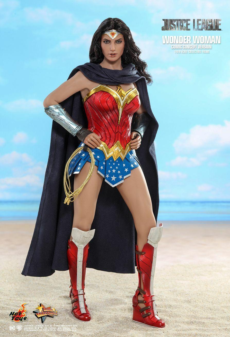 Mujer Maravilla-Arte conceptual escala 1 6th Figura de Acción MMS506 (Hot Juguetes)  NEW