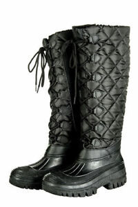 HKM-Thermostiefel-Fashion-Winterstiefel-schwarz-Gr-36