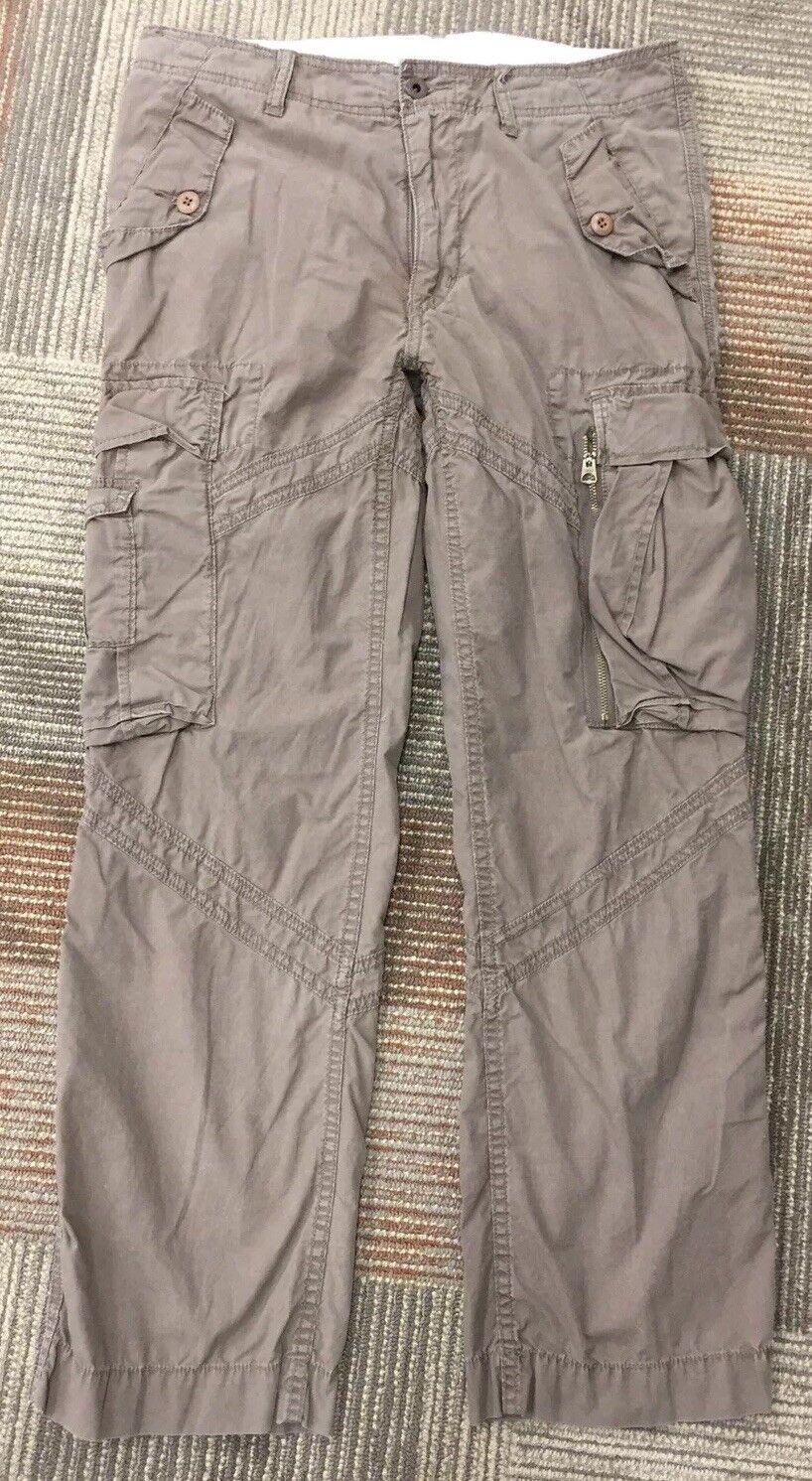 Polo By Ralph Lauren Dark Khaki Cargo Pants Military Men's Size 32 L 30
