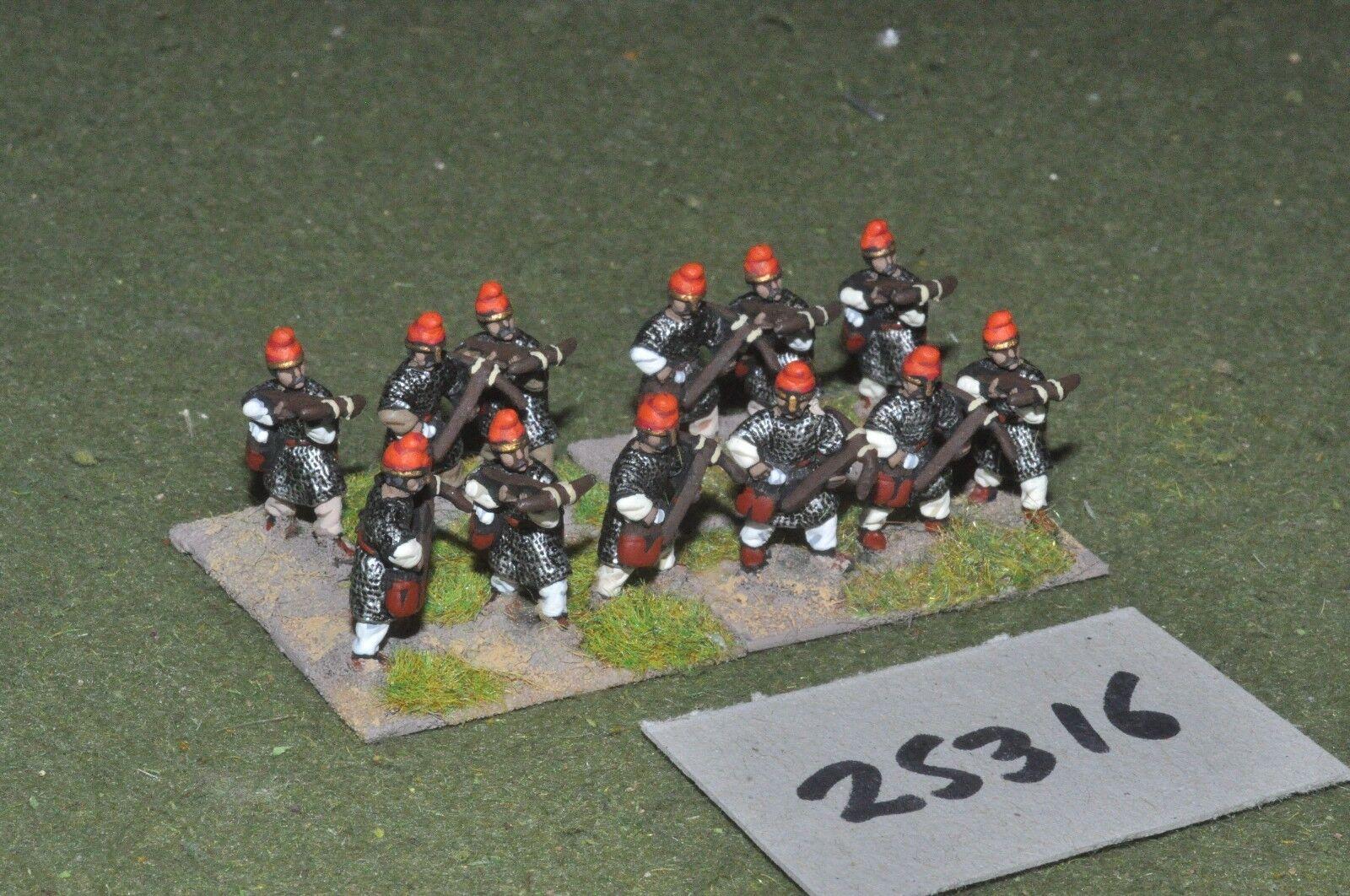 20mm medieval   saracen - spares 12 figures - inf (25316)