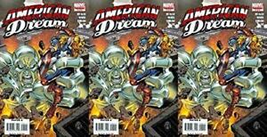 American Dream 5 2008 Limited Series Marvel Comics 3 Comics