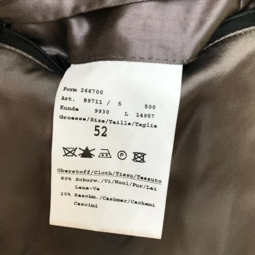 Germany Of lana Odermark Giacca in cashmere Eu 52 By e Size nwaqx0YxB