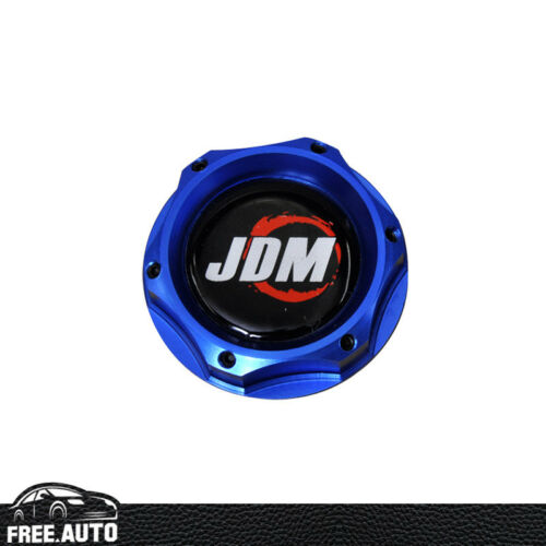FITS HONDA CIVIC ACCORD ACURA INTEGRA JDM ENGINE OIL FILLER TANK CAP COVER BLUE