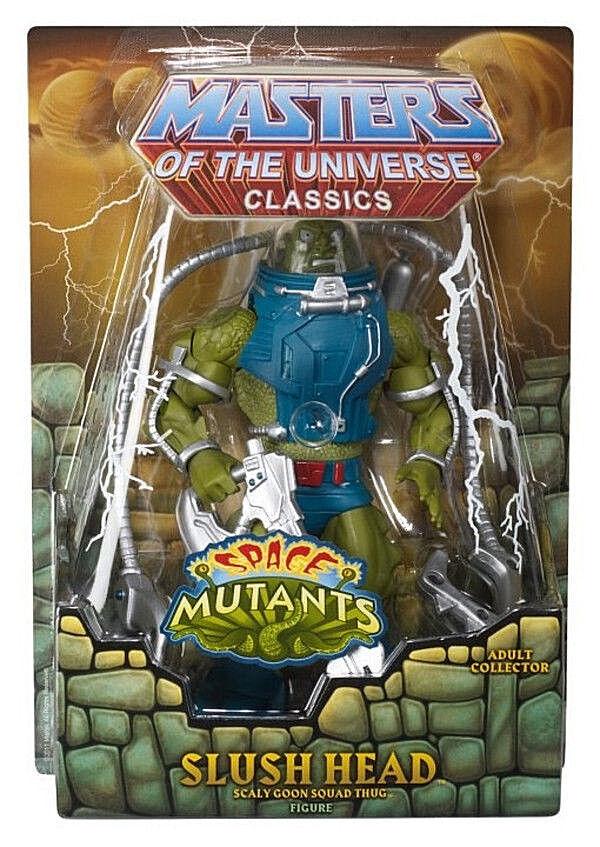 MASTERS MASTERS MASTERS OF THE UNIVERSE Classics_SLUSH HEAD 6   figure_Exclusive Limited Edition 54b892
