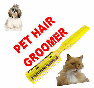 Details about Pet Hair Trimmer Groom Grooming Razor Comb Dog Cat Cut