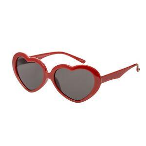04ab36d923 Rouge Cœur Enfants Lunettes de Soleil Uv400 Classique Filles Lolita ...