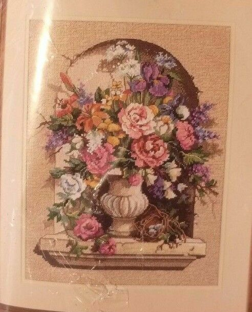 """Dimensions Needlepoint Kit 12/""""X16/""""-Tuscan View Stitched In Floss"""