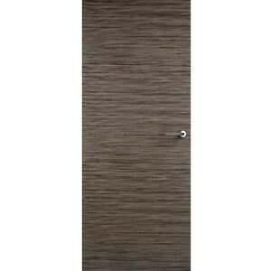 Internal door mocha flush contemporary modern interior for Wood veneer interior doors