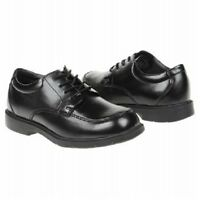 Buster Brown Bryce Ii Black Lace Up Boys Dress Shoes Sz 12
