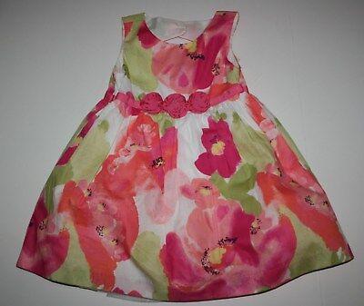 3 6 9 12 18 M Gymboree Birds Flower Dinos Easter Dress Baby New Girl NWT