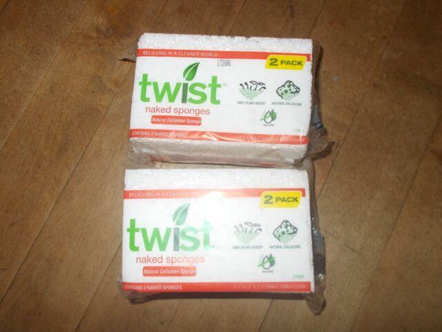 Twist Naked Sponge Small 2 Pack - Newegg.com