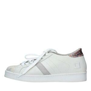 free shipping afa0e 9fe1b Dettagli su NV1482 Scarpe Sneakers D.A.T.E. donna