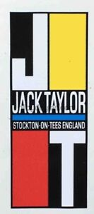 JACK TAYLOR head decal.