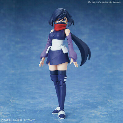 Bellissimo Figure Rise Build Divers Ayame Plastic Model Kit (no Gunpla) Bandai Gamma Completa Di Articoli