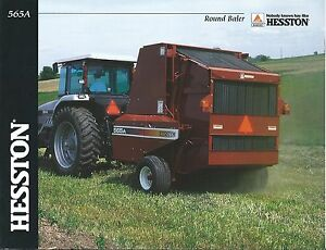 Hesston 565a parts diagram all kind of wiring diagrams farm equipment brochure hesston 565a round baler 2001 f4922 rh ebay com hesston 1014 parts diagram hesston 1120 mower parts lookup ccuart Images
