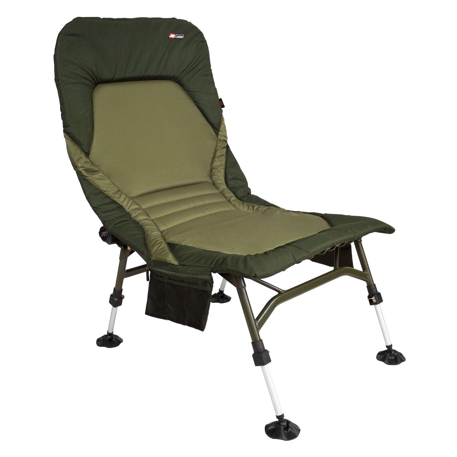 JRC Cocoon RECLINER carpa sedia pesca carpchair CARP CHAIR sedia da campeggio
