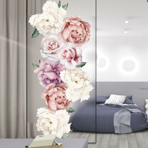 Removable Peony Flowers Wall Sticker Art Mural Decal DIY Home Room Decor Nice