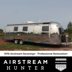 1976 Airstream Sovereign 31