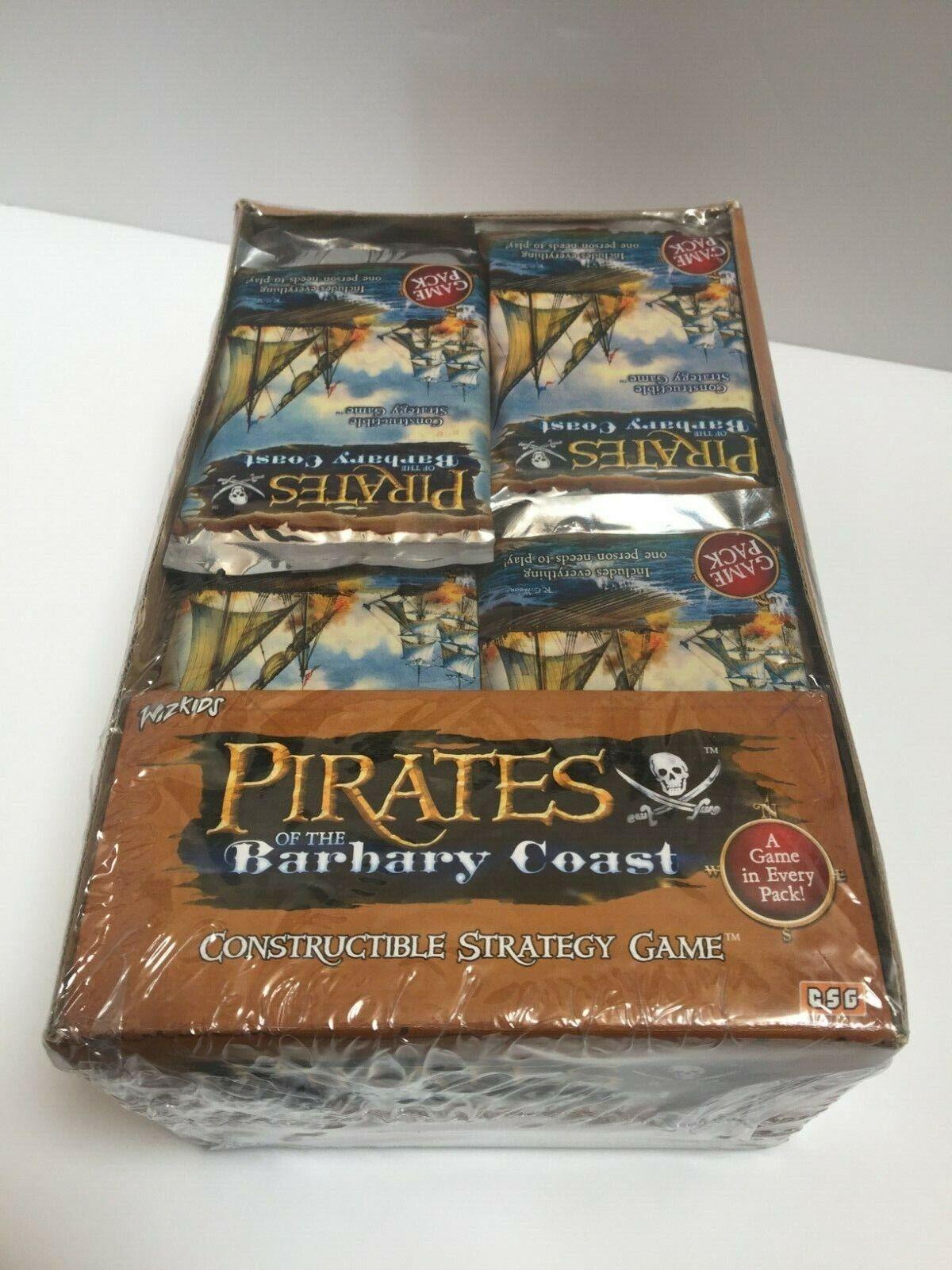 Piratas del Barbary Coast Booster Caja, Sellado De Fábrica 36 Paquetes