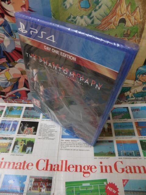 Playstation 4 PS4:Metal Gear Solid V - The Phantom Pain [TOP KONAMI] NEUF - Fr