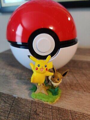Pokemon TCG Pikachu /& Eevee Poke Ball and Collection Figure Toy
