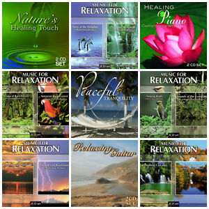 Details about 18 used RELAXATION CDs LOT music&nature sounds,rain  forest,dolphins,piano,guitar