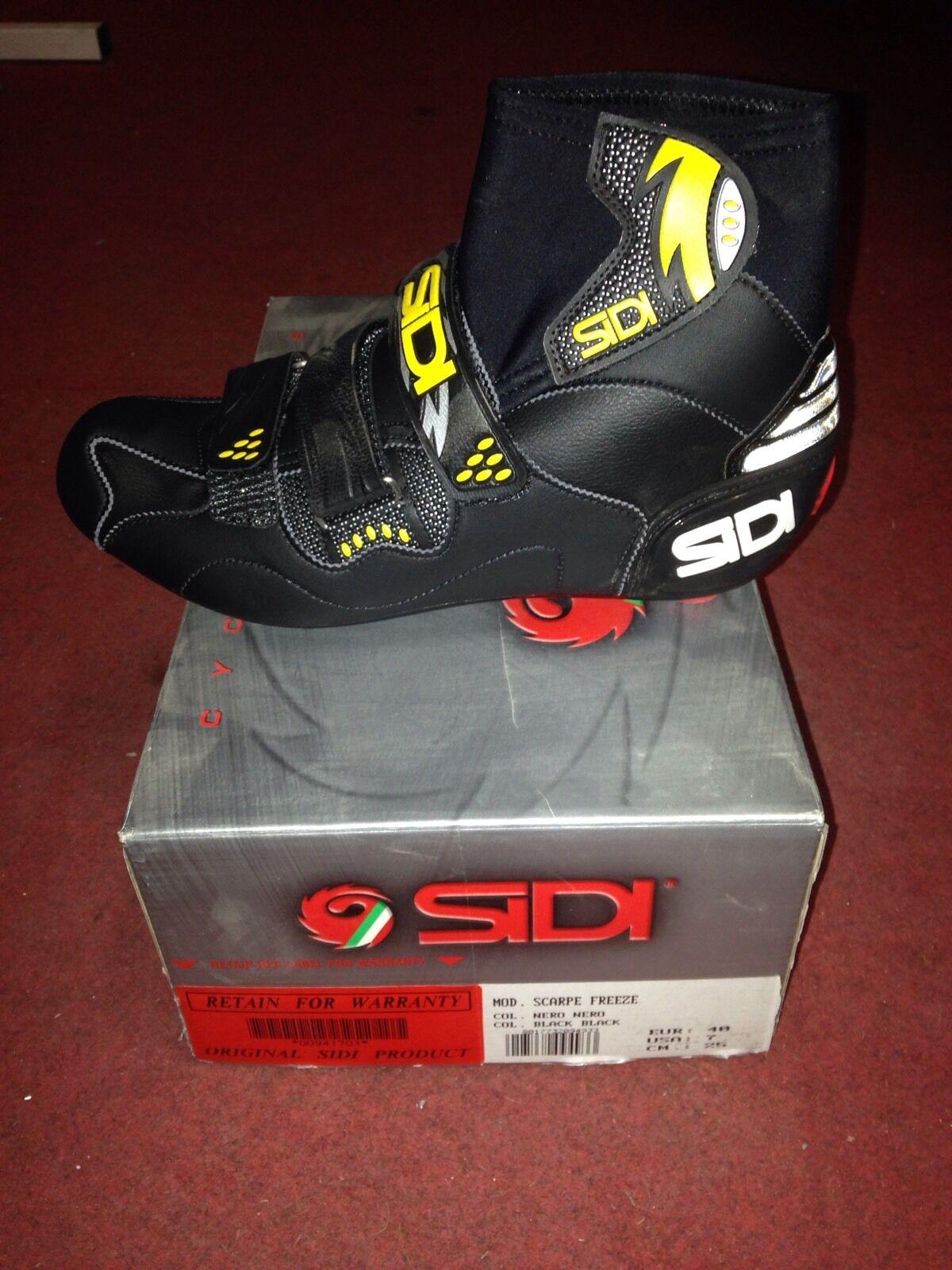 zapatos Bici corsa Sidi Freeze Invernali road Bike zapatos winter 36 38 40