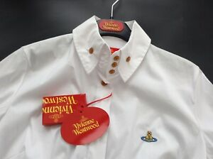 BNWT-100-auth-Vivienne-Westwood-Ladies-Luxury-White-Shirt-With-Orb-42