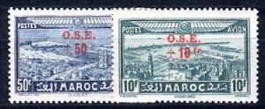 MAROC-1938-Yvert-PA-41-42-POSTFRISCH-F3737