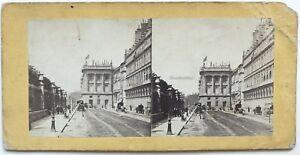 Parigi-Animato-Rue-Da-Rivoli-Foto-N-PL40L6-Stereo-Vintage-Albumina-c1865