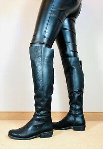 the best attitude e5e76 1a04c Details zu ! TOP ! schöne lange bis zum Knie - Stiefel Damen Männer Boots  EU42 UK8 US11