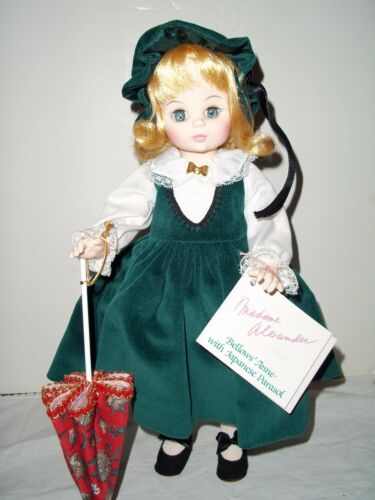 "14"" Bellows Anne With Japanese Parasol by Madame Alexander #1568 Mint in Box"