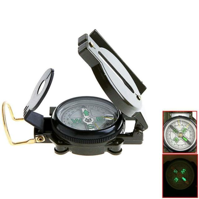 Plast Lensatic Compass Military Camping Hiking Army Style Survival Marching  J/&S