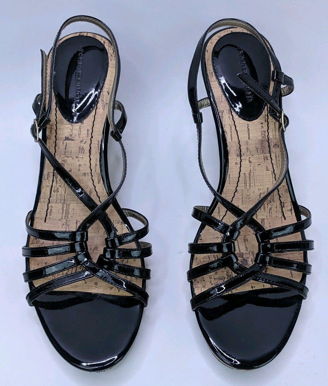 Tommy Hilfiger Women's 8.5M Wedges Heels Black St… - image 3