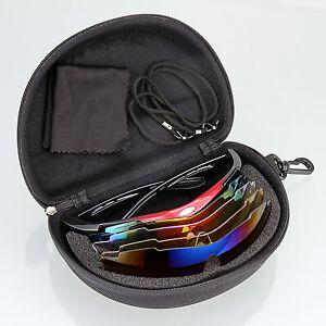 Polarized Cycling Glasses Bike Sports Fishing Sunglasses Eyewear Goggles 5 Lens