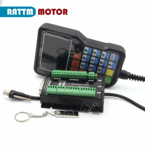 3 Axis 125KHZ NC OfflineStand Alone CNC Motion Controller Handheld Pendant NCH02