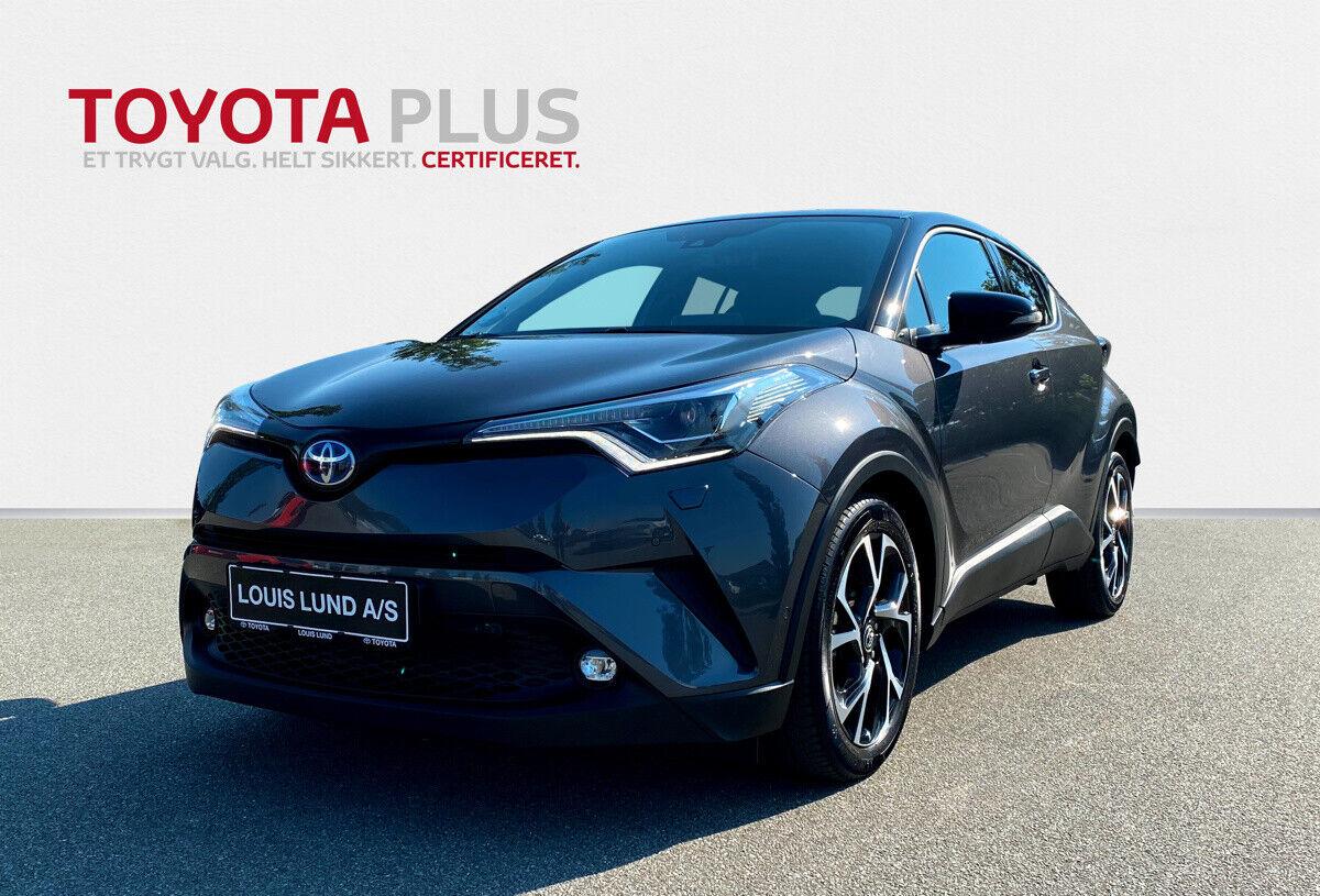 Toyota C-HR 1,8 Hybrid Premium Selected CVT 5d - 269.900 kr.